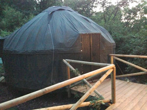 Glamping on the edge of a Buckinghamshire village