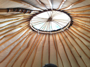 Turkoman style yurt just 35 miles from London